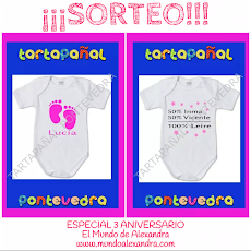 SORTEO ESPECIAL ANIVERSARIO CON TARTAPAÑAL PONTEVEDRA