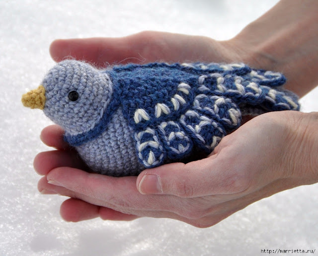Crochet Patterns Step By Step : ergahandmade: Crochet Bird + Free Pattern Step By Step