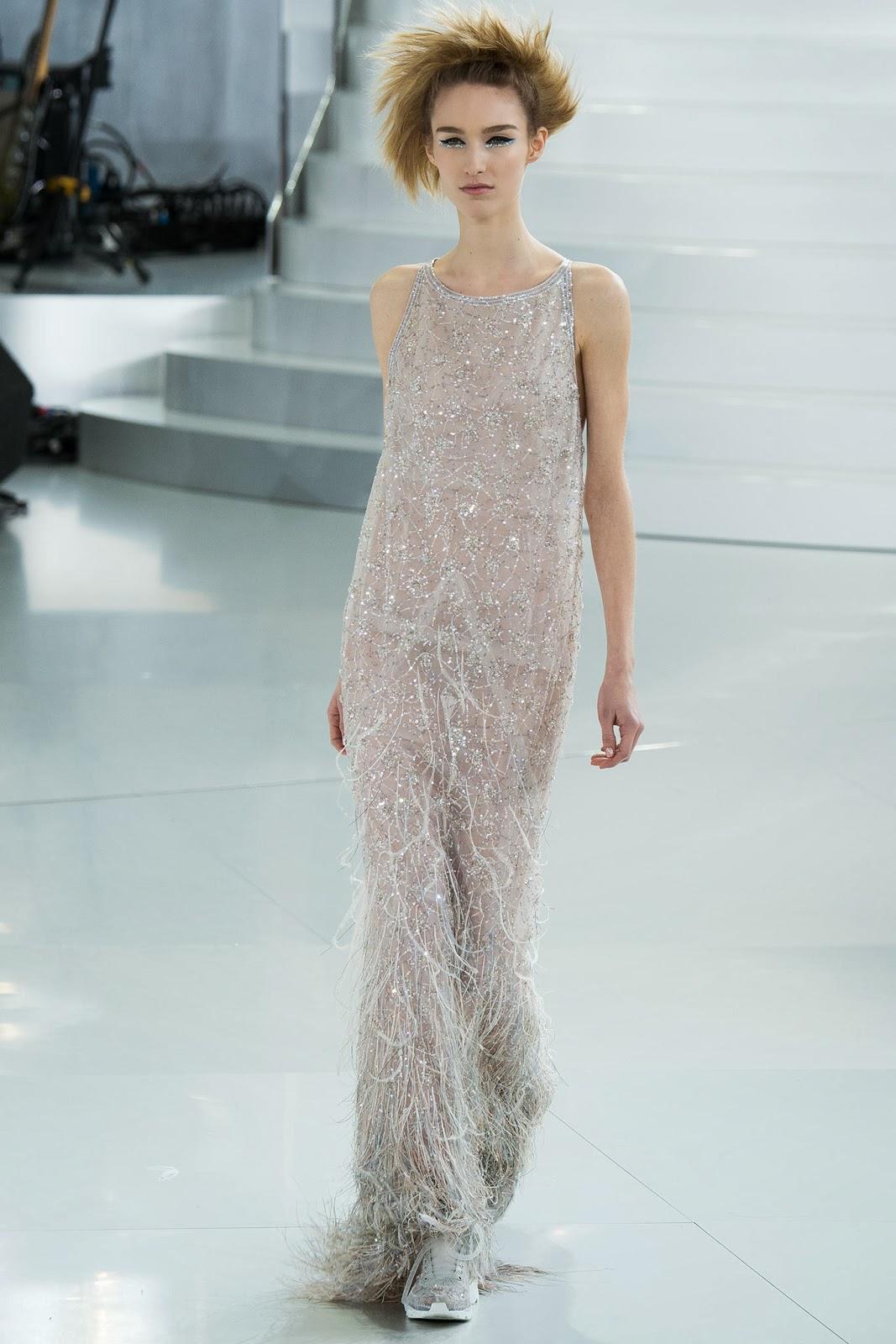 Chanel haute couture printemps été spring summer 2014