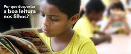 Saiba por que é importante despertar o gosto da boa leitura nos seus filhos