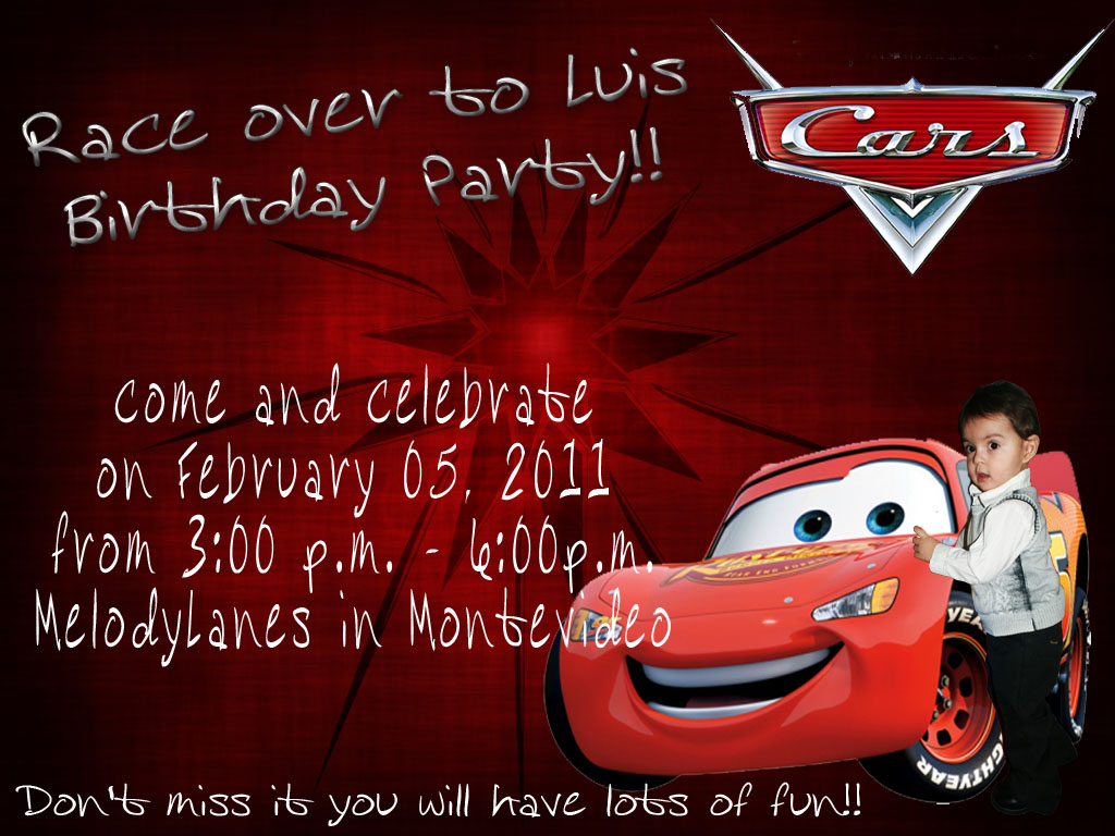 KiZhA\'z Creations: Birthday Party Invitations