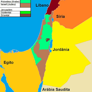 Israel poderá ser dividido pela ONU ainda este ano