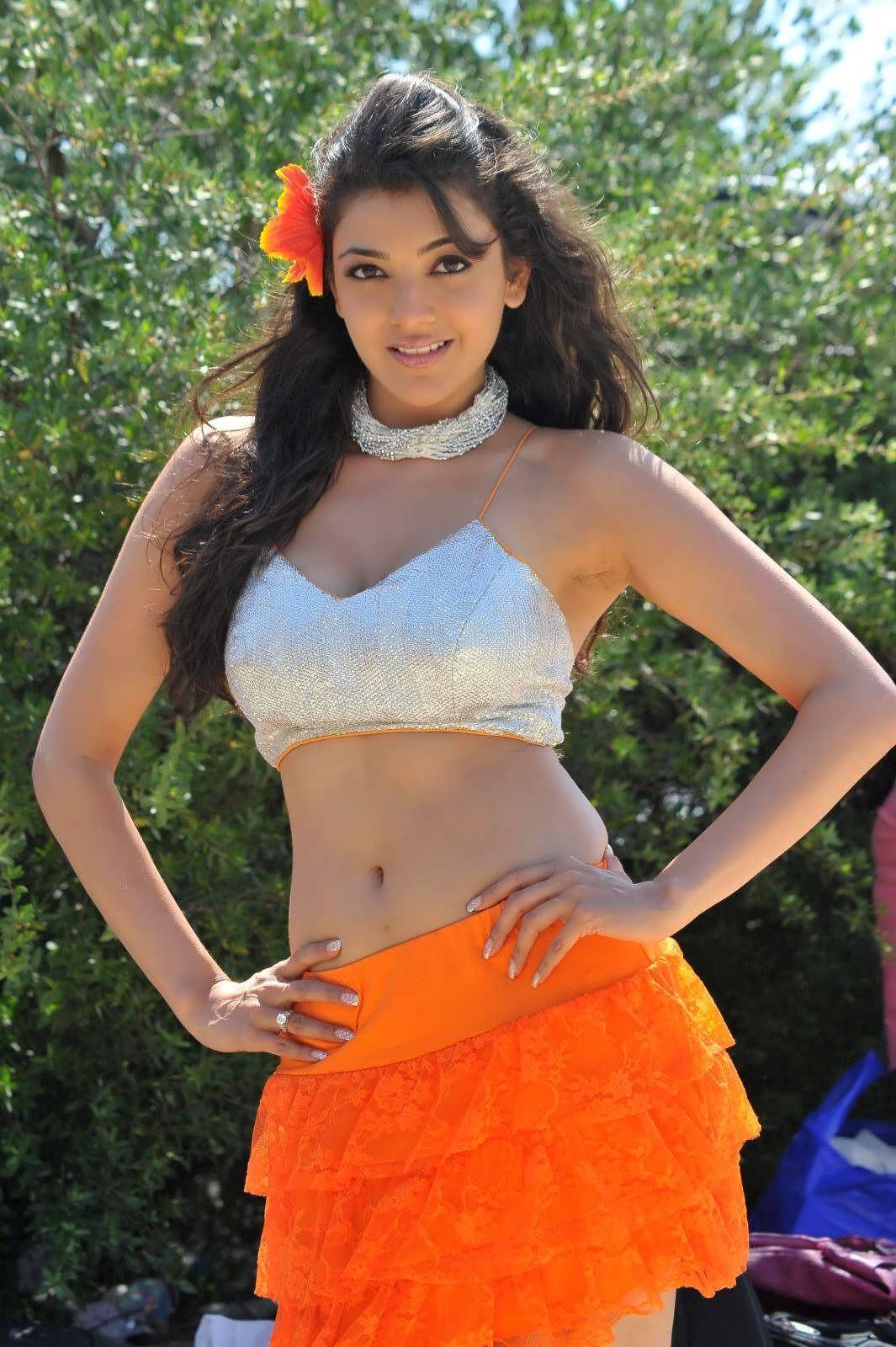 Gossip4u: Kajal Agarwal Hot Navel Stills