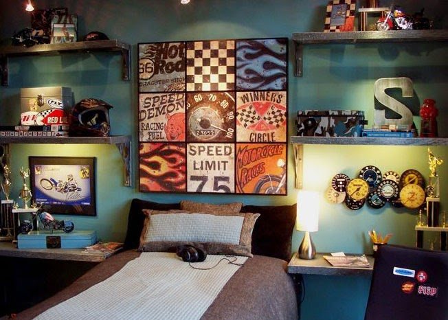 creative boy's bedroom