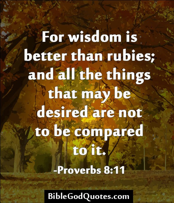 The Wisdom Of God: 19 Bible Verses and Quotes