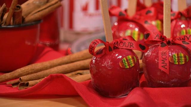 Sabonete maçã do amor