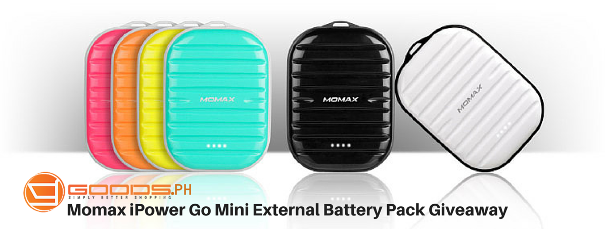 ITB and Goods.ph Momax iPower Go Mini External Battery Pack Giveaway!