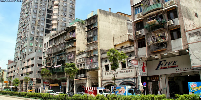 Barrio chino de Macao