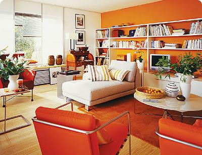 diseno sala naranja
