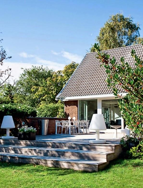 Una casa de estilo nordico femenina y atrevida daring - Casas de estilo nordico ...
