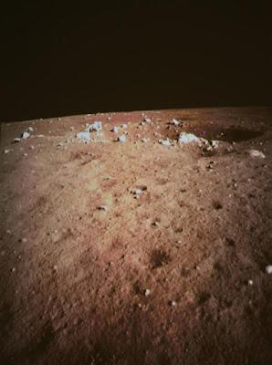 Primera foto Chang'e 3 desde la Luna