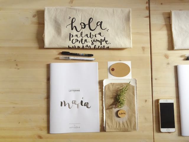 Kit - Taller Lettering para eventos - Happy Letters