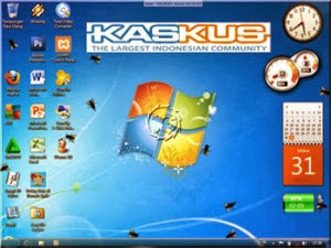 Aplikasi Keren Laptop Fly On Desktop