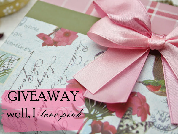 GIVEAWAY - CLOSED | ♥ Well, I love pink ♥ | October :: Breast Cancer Awareness Month
