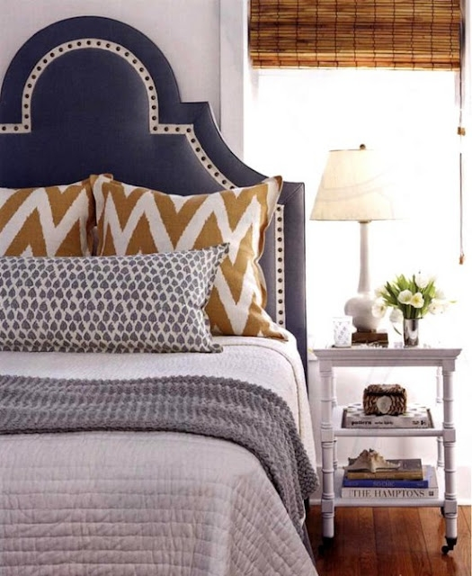 The Peak Of Très Chic Headboard Heaven Awesome Patterned Headboards