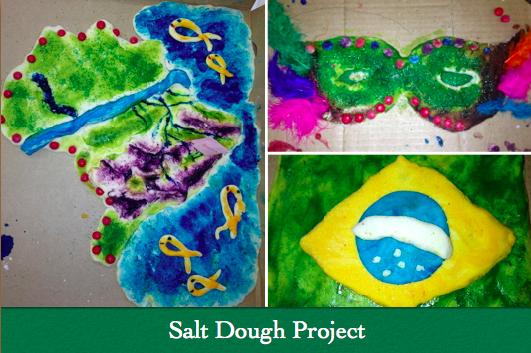 Miss Mills\' Blog: Salt Dough Maps