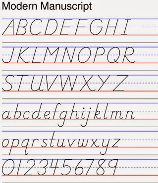 Modern Handwriting