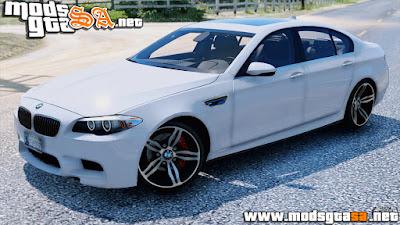 SA - BMW M5 F10 2012 para GTA V PC