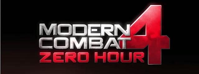 Modern Combat 4 Zero Hour Logo