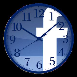 facebook, reloj, tiempo gastado en facebook