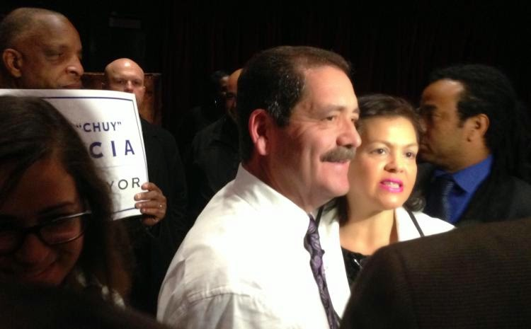 """Chuy"" Garcia Campaign -- It's on!"