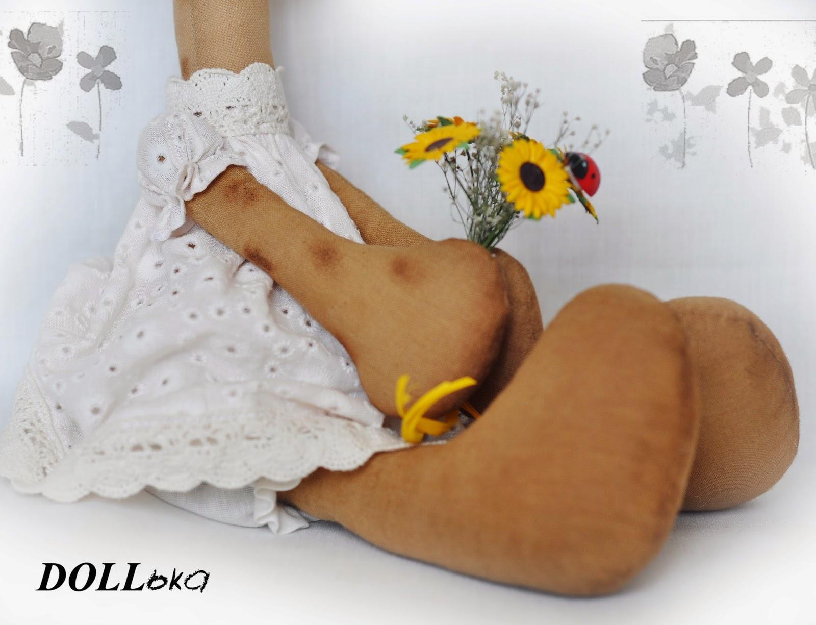 жираф текстильная игрушка ручной работы