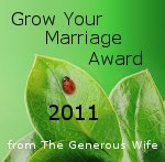 Grow Your Marriage Award 2011