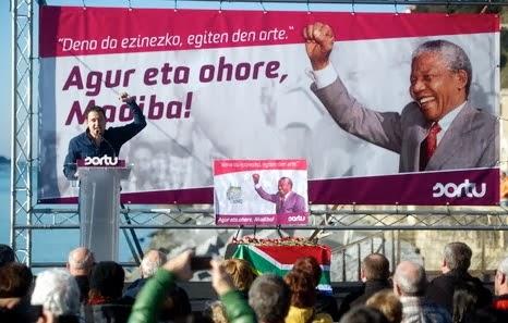 Nelson Mandela, agur eta ohorerik ez!