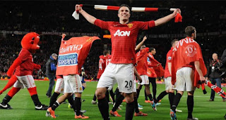 Video Gol Manchester United vs Aston Villa 23 April 2013