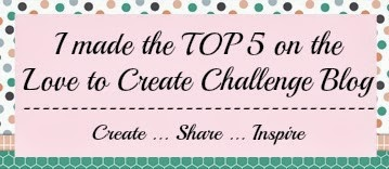 Top 5 at Love to Create Challenge #84
