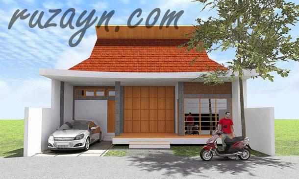 Contoh Desain Rumah Joglo Kontemporer
