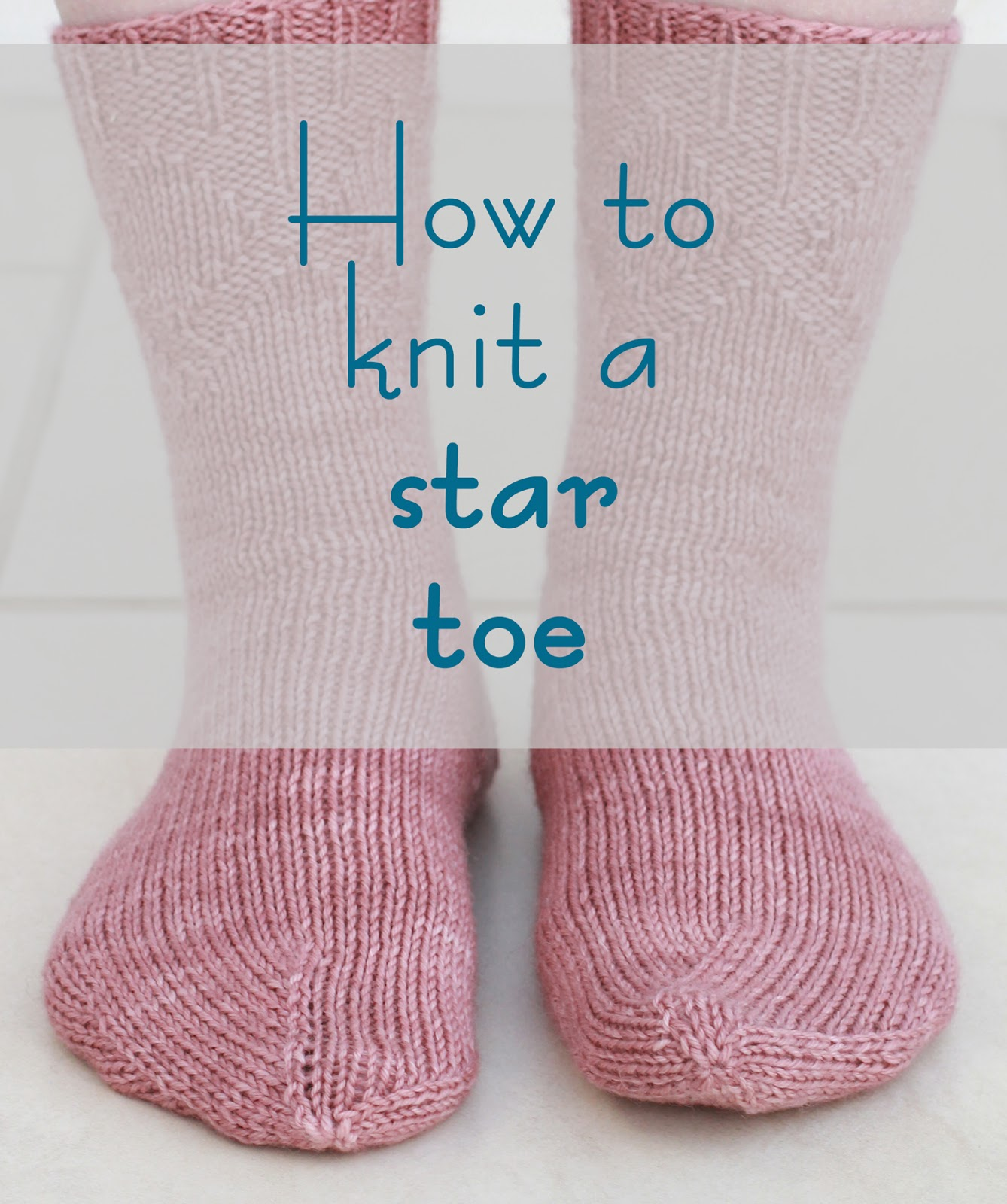 Katya Frankel: How to Shape a Star Toe - Sock Knitting