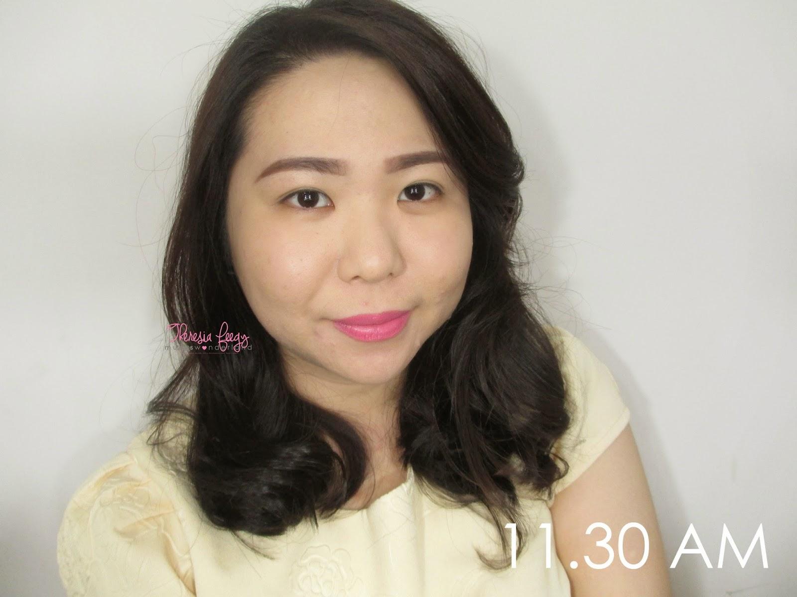 long lasting, doesnt slide away, light weight, medium-high coverage, korean, good for oily skin foundation