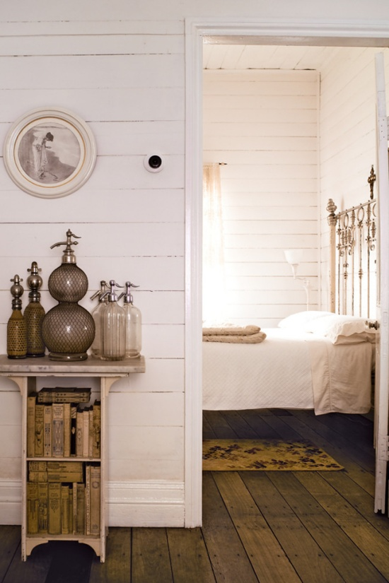 White country cottage