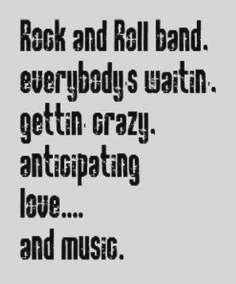 music song quotes pictures images rock and roll