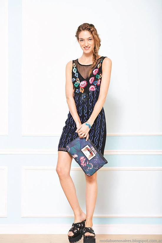 Vestidos de verano, Uma primavera verano 2015.