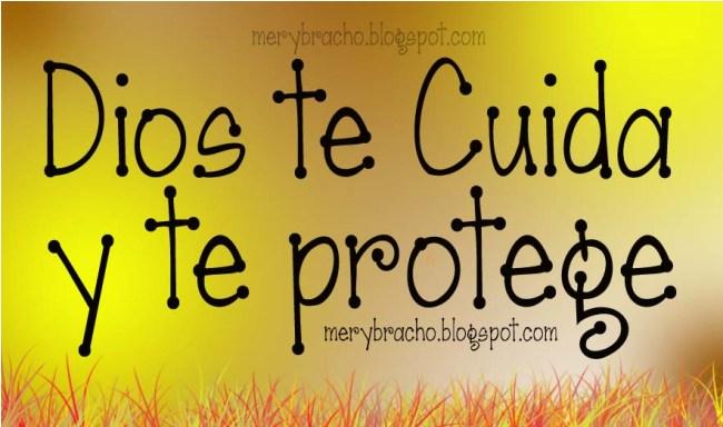 Dios te cuida y te protege. Reflexión cristiana, anécdota acerca del cuidado y protección de Dios, meditaciones cristianas.  Dios es seguridad. El ángel de Jehová acampa alrededor de los que temen. Postales cristianas, imágenes, tarjetas para compartir por facebook, por pin.