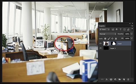 Kada Vas Photoshop prebaci na prikaz dokumenta u koji prebacujete pojaviće se znak plus ispod kursora