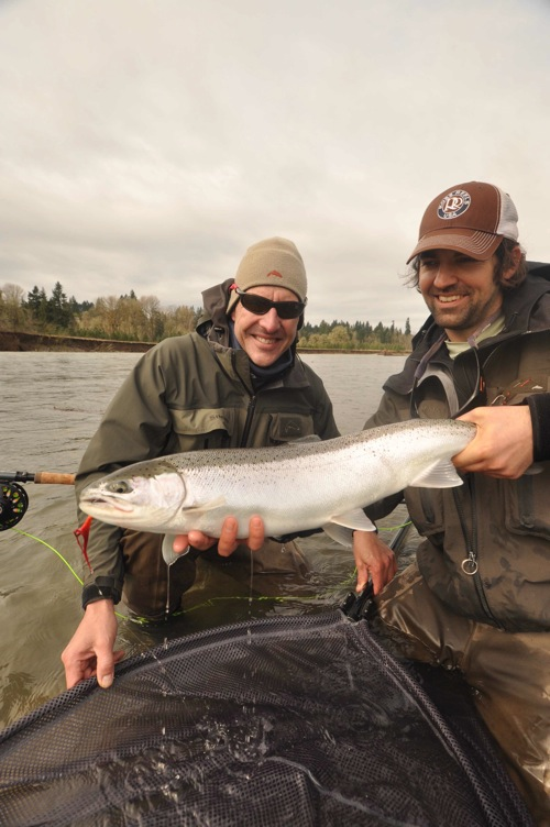 Oregon fly fishing report by larimer outfitters clackamas for Fishing report oregon