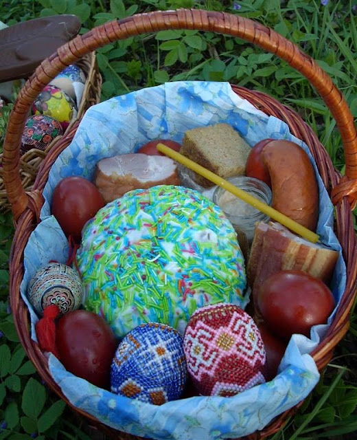Easter Food Basket, West Ukraine
