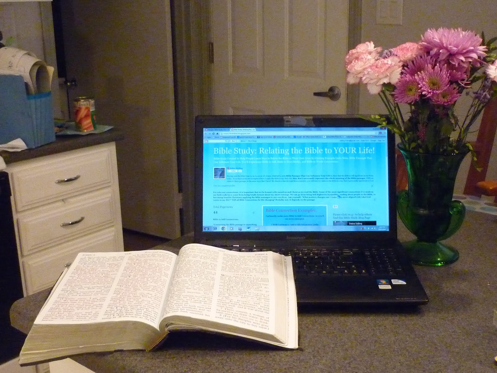 Bible Study:Relating the Bible to YOUR LIfe!