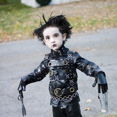 Edward Scissor-hands.......... Jr!