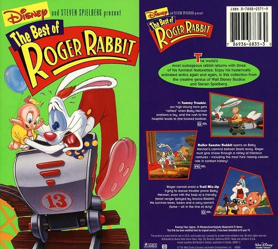 friday april 8 2011 - Who Framed Roger Rabbit Dvd