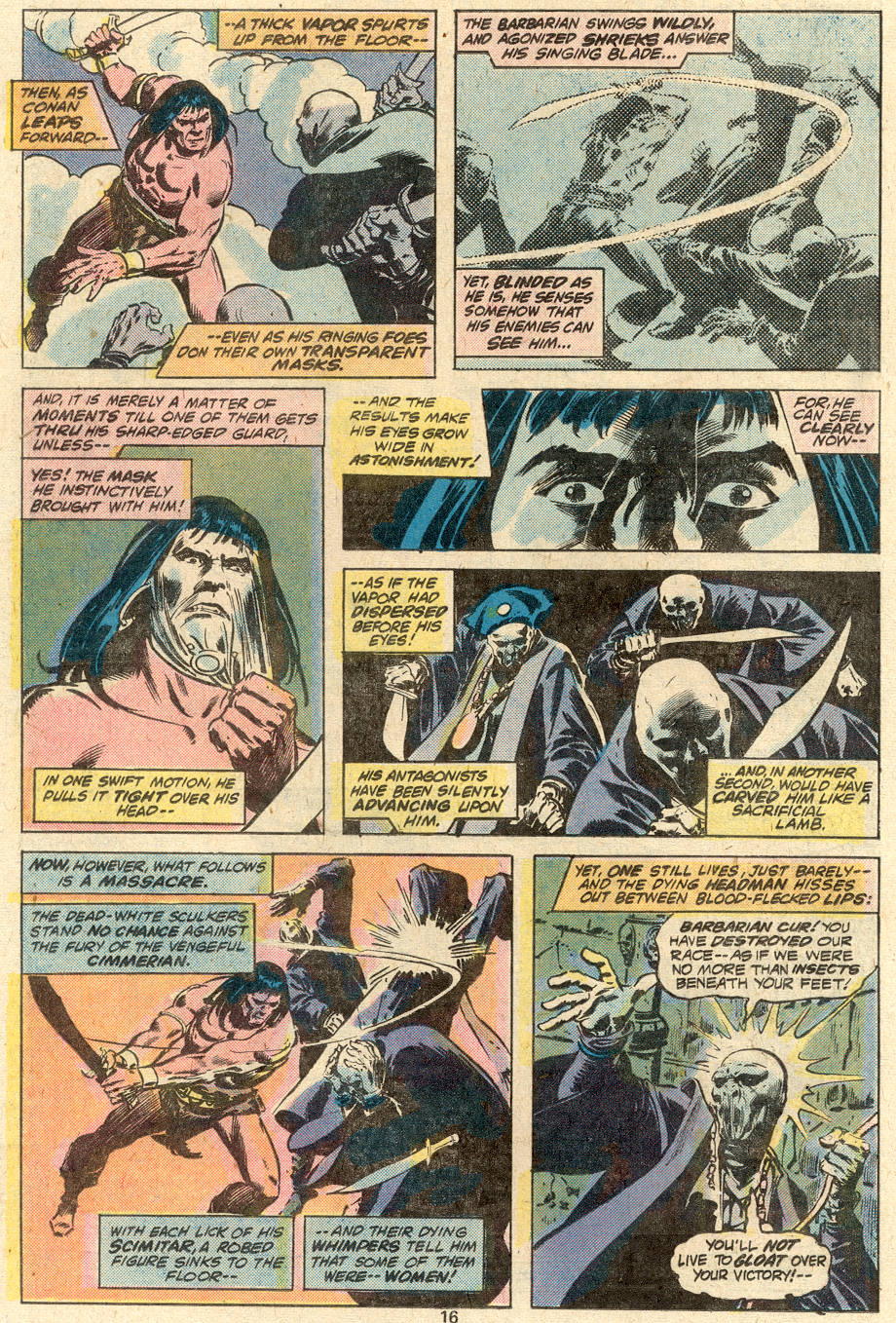 Conan the Barbarian (1970) Issue #87 #99 - English 11