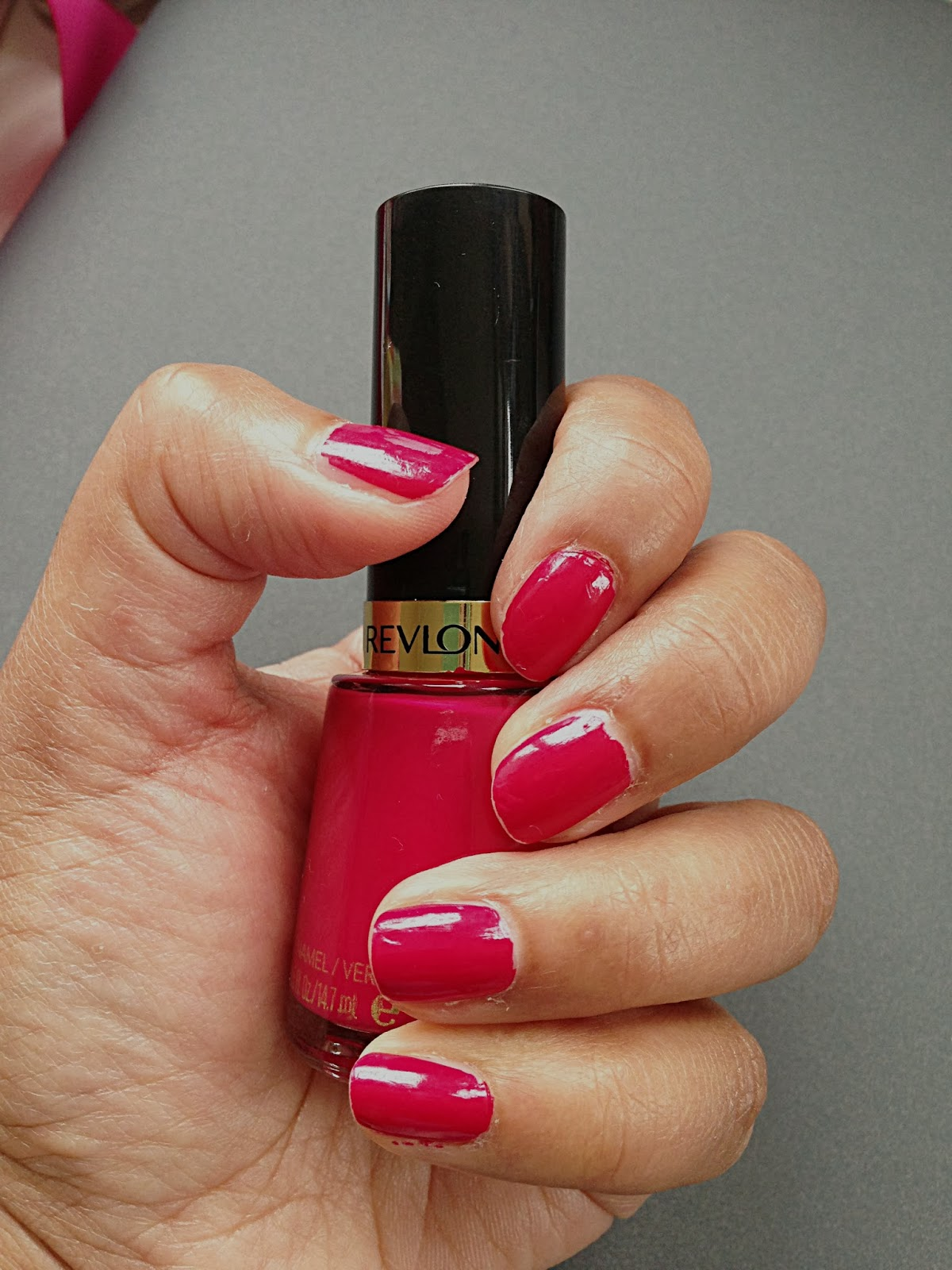 ... save this for my September favourites post but I just couldn't wait to talk about my love for Revlon's Cherries in the Snow lipstick and nail varnish!!