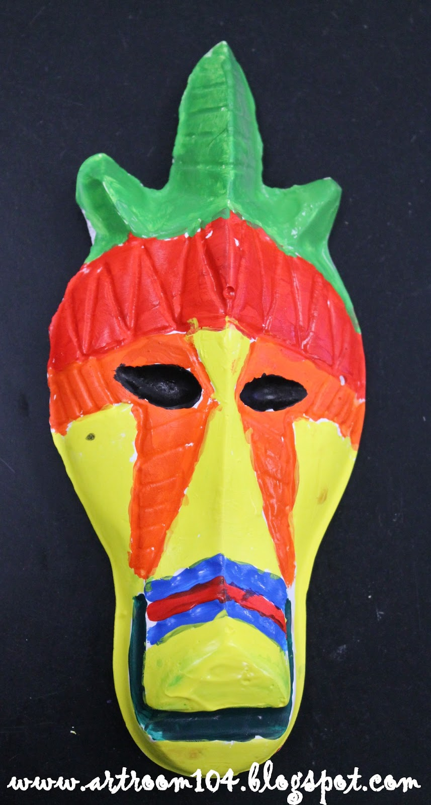 how to make a plaster mask