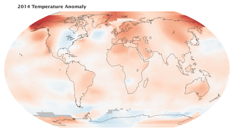 NOAA's 2014 Warmest Year Ever