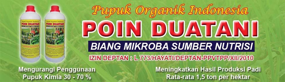 pupuk organik - pupuk organik cair Poin Duatani