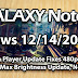 Galaxy Note 2 News 12/14/2012: Major Flash Player Update, 400% Max Brightness, GTA: VC, MC4, Note 3?