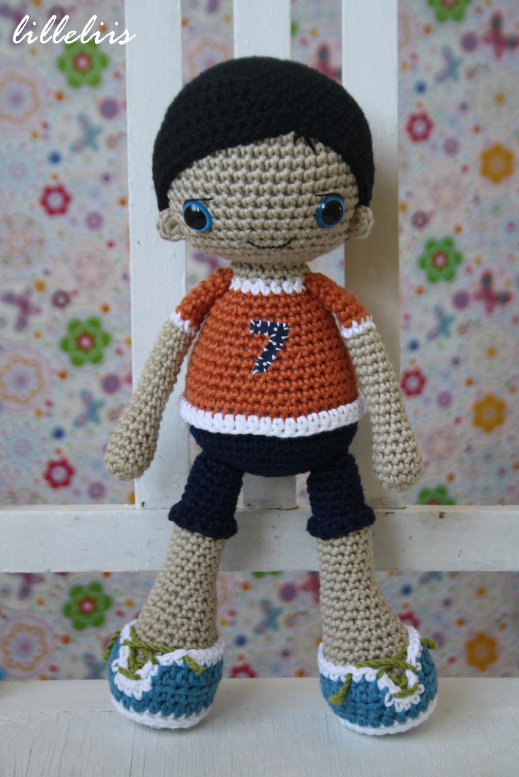 Free Amigurumi Boy Doll Patterns : lilleliis.blogspot.com: Heegeldatud poiss-nukk/Amigurumi ...